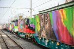 Video: APM Terminals apoya el transporte ferroviario con la obra de arte móvil más larga del mundo