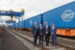 Puerto de Zeebrugge inicia servicio regular de transporte ferroviario a Puerto de Duisburg