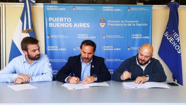Argentina: Puertos de Santa Fe y Buenos Aires firman convenio de cooperación