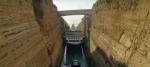 Video: Así fue el paso de Braemar por el Canal de Corinto en Grecia