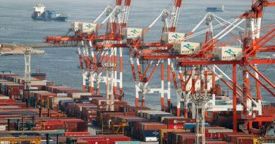Exportaciones de Corea del Sur caen 1,7% en los primeros días de julio