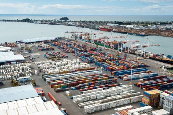 Puerto de Tauranga disminuye en 4,2% volúmenes totales de carga