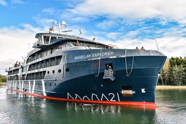 Crucero de expedición de Antarctica21 será bautizado en Punta Arenas - PortalPortuario