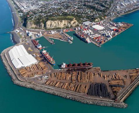 Puerto de Napier comienza construcción de nuevo muelle