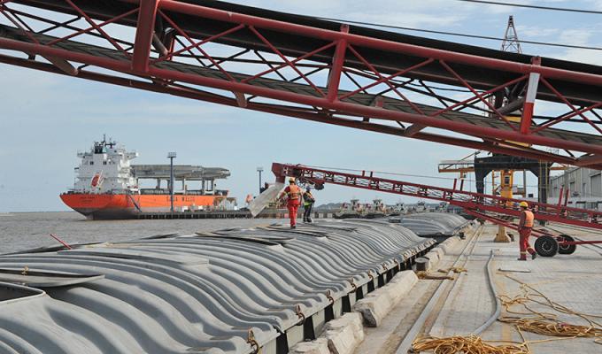 Uruguay: Puerto de Nueva Palmira aumenta transferencia de carga - PortalPortuario