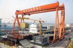 Astilleros surcoreanos son superados por constructures chinos en cantidad de pedidos durante abril