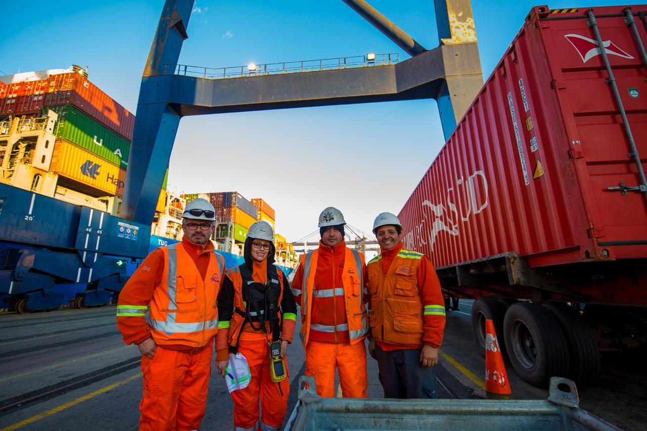 San Antonio es el principal puerto de salida de las exportaciones chilenas durante enero