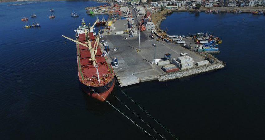 Puerto Talcahuano post reconstrucción 1