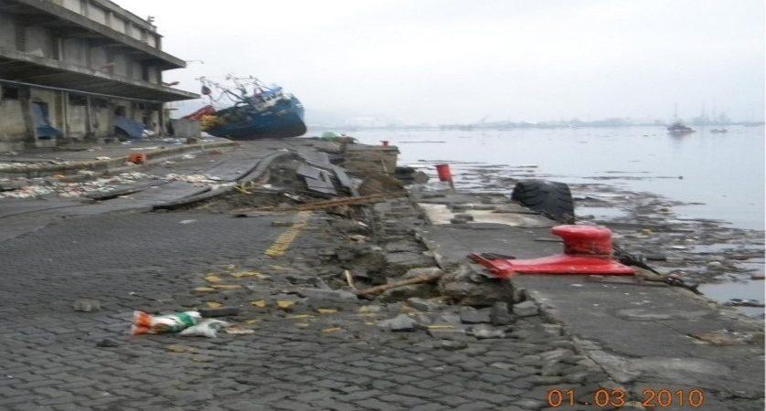 Puerto Talcahuano post terremoto 2