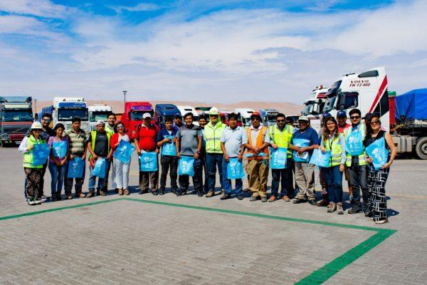 Terminal Puerto Arica capacita a transportistas para evitar posibles contagios de enfermedades