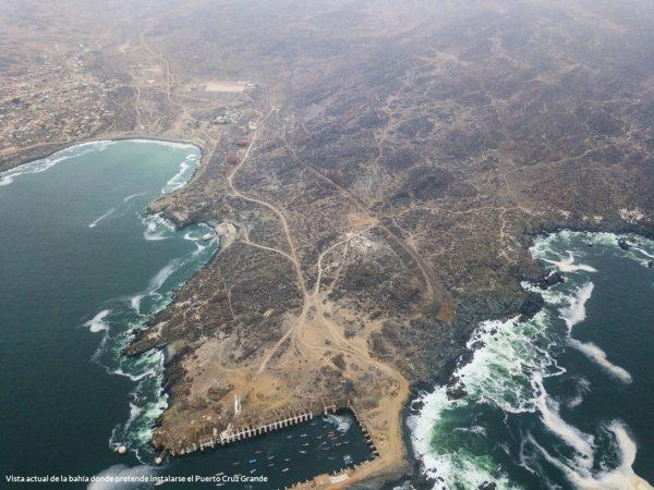 Oceana realiza nueva acusación contra proyecto Puerto Cruz Grande