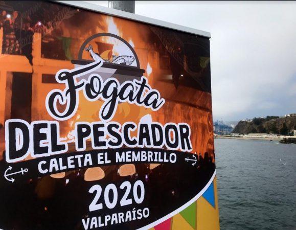 Puerto Valparaíso y TCVAL apoyan Fogata del Turista en Valparaíso