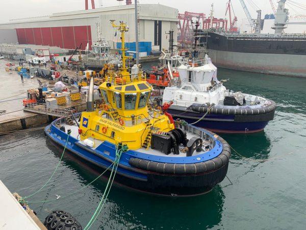 Imágenes: SAAM Towage recibe al remolcador SAAM Valparaíso que se desplegará en Panamá