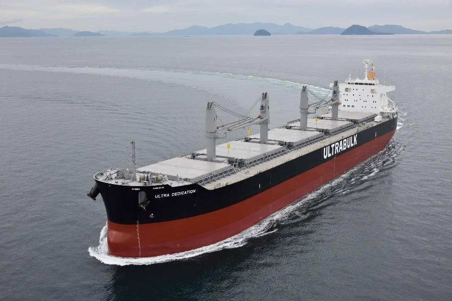 Ultrabulk incluye a Puerto de Tampa Bay en servicio dedicado al transporte de productos forestales