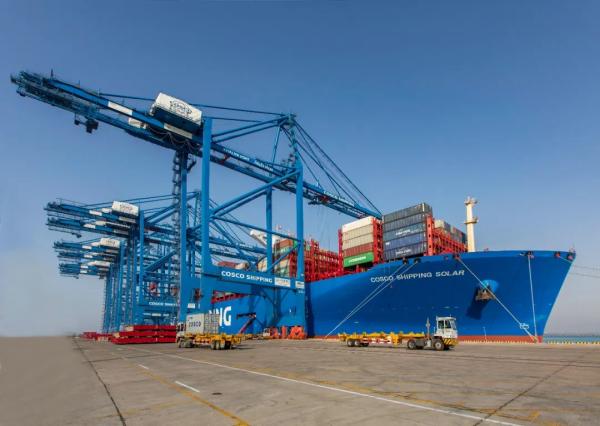 COSCO Shipping Ports presenta incremento de 2,7% en sus ganancias de 2019