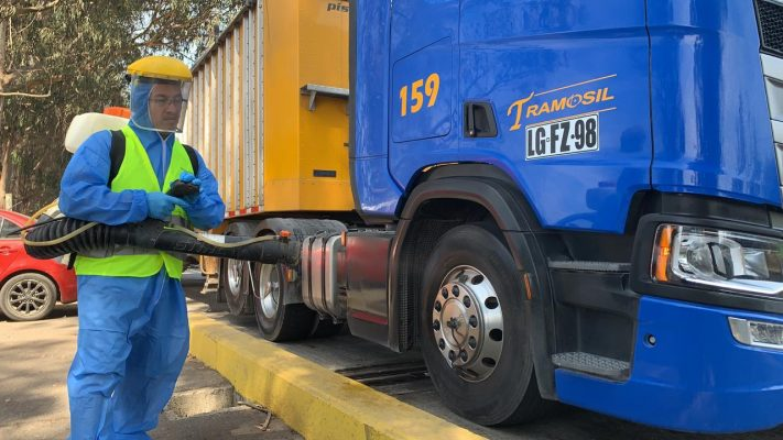 sanitizacion camion san antonio