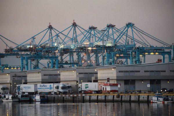 Las terminales del Puerto de Algeciras paran seis horas por falta de estibadores