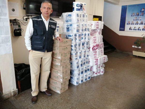 DP World Lirquen realiza donación a adultos mayores de la comuna de Penco