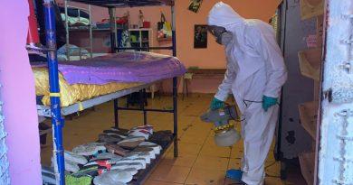 Puerto San Antonio realiza sanitización de cárcel local