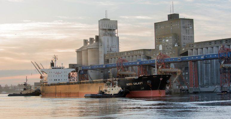 Argentina: Puerto Quequén moviliza más de 1.9 millones de toneladas el primer trimestre