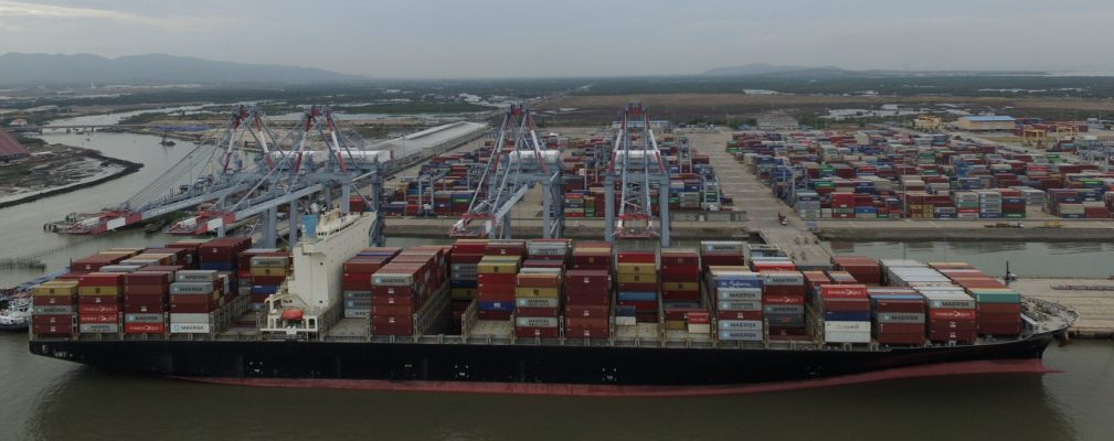 Vietnam: Cai Mep International recibe la primera recalada del nuevo servicio TP17 de 2M