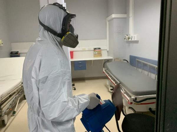 Puerto San Antonio realizará nueva sanitización en hospital Claudio Vicuña