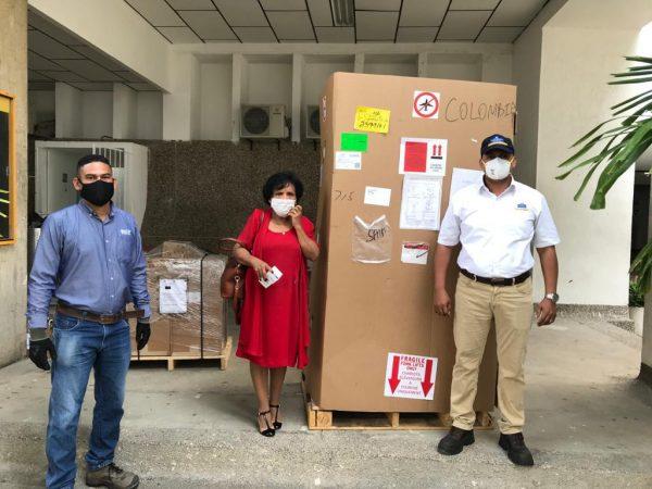Grupo Puerto de Cartagena entrega equipos de diagnóstico Covid-19 a Universidad de Cartagena