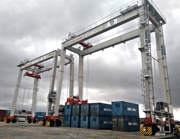 Konecranes entregará dos grúas RTG al Puerto de Ben Nghe en Vietnam en 2021
