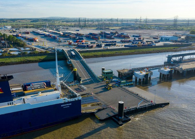 Video: Nueva terminal Ro-Ro de Tilbury2 inicia oficialmente sus operaciones