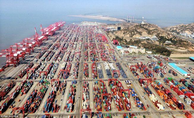 Puerto de Shanghai establece centro de distribución de contenedores vacíos para paliar la crisis