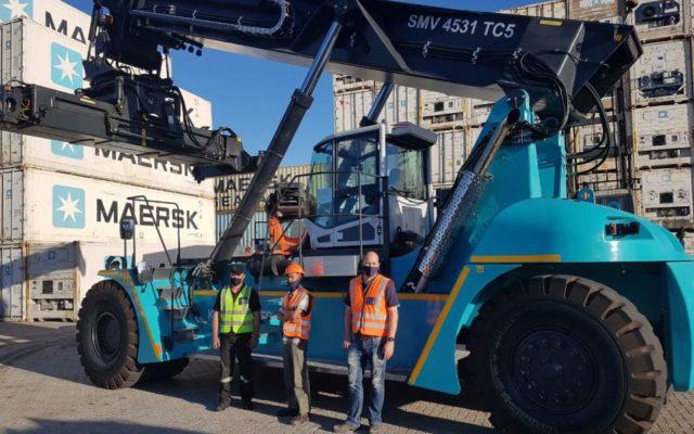 APM Terminals recibe reachstacker de Konecranes en Port Elizabeth