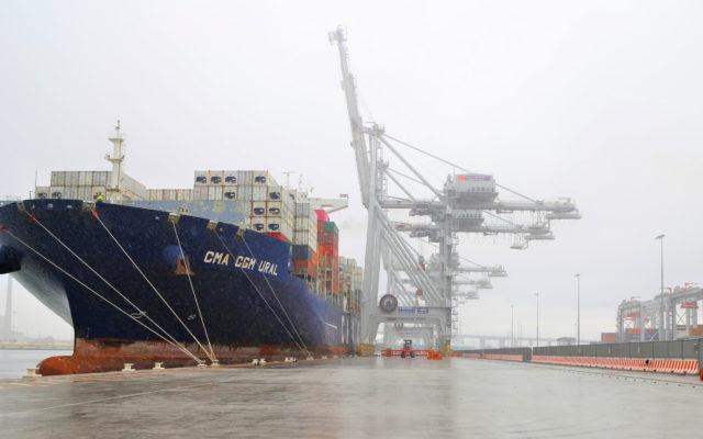 CMA CGM Ural se convierte en el mayor buque portacontenedores en arribar al Puerto de Melbourne