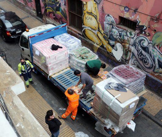 EPV y concesionarios realizan segunda entrega de alimentos a portuarios eventuales