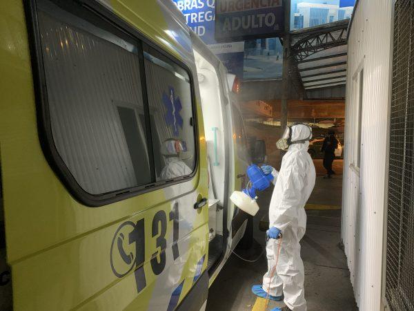 Puerto San Antonio realizará sanitización número 13 a hospital Claudio Vicuña