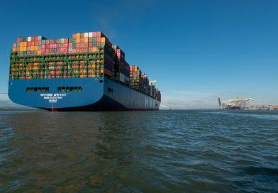 Galería: HMM Algeciras concluye viaje inaugural con recalada en DP World London Gateway