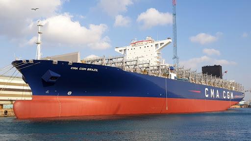 África: DP World Sokhna recibe al mayor buque portacontenedores de su historia