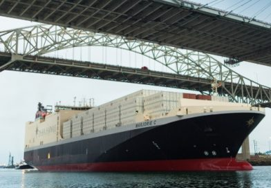 Video: MV Marjorie C hace su primera recalada en el Puerto de Long Beach