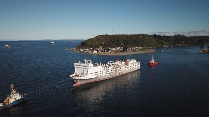 Galería: Puerto de Puerto Montt exporta 5 mil cabezas de ganado a China