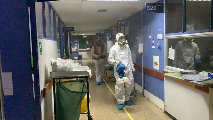 Puerto San Antonio concretará sanitización número 20 en Hospital Claudio Vicuña