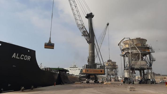 Terminal Norte Multipropósito del puerto del Callao atendió nave granelera más grande y con mayor carga de su historia 3