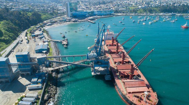 Puerto Panul cerrará 2020 con transferencia histórica de 3.3 millones de  toneladas de granos - PortalPortuario