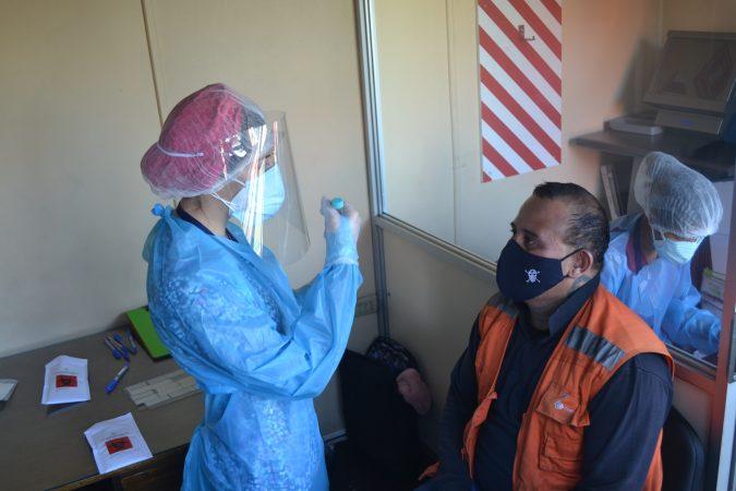 Empresa Portuaria Antofagasta realiza Exámenes PCR por Covid-19 a grupos de interés