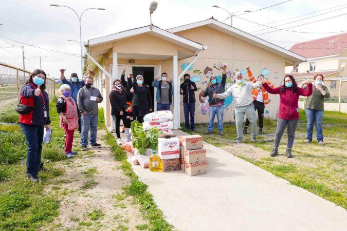 STI realiza campaña 1+1 con sus trabajadores para donar alimentos a ollas comunes