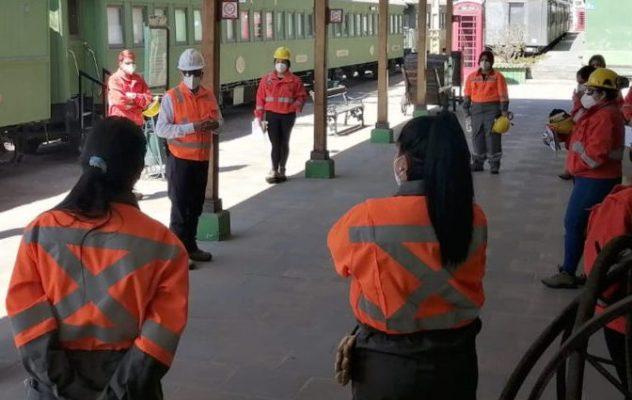 FCAB realiza proceso de formación en operación ferroviaria a 18 mujeres