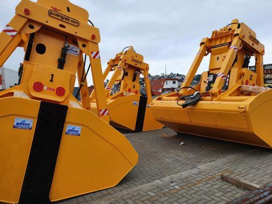 Talcahuano Terminal Portuario adquiere nuevas palas graneleras