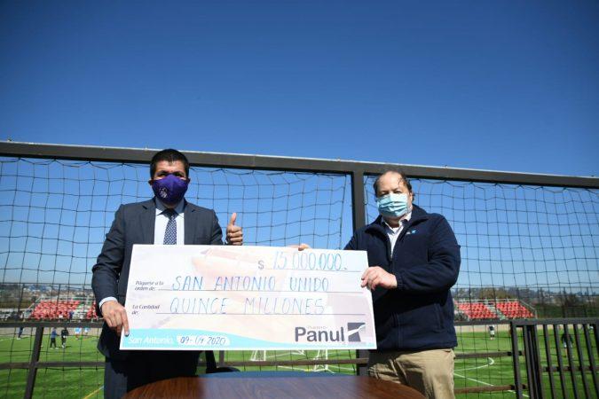 Puerto Panul renueva su compromiso con San Antonio Unido por sexto año consecutivo