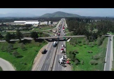 Video| Se restablece flujo de carga al Puerto de San Antonio tras fin del paro camionero