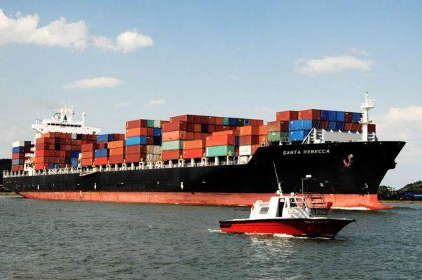 Brasil: Puerto de Santos registra en agosto el mayor movimiento de carga mensual de su historia