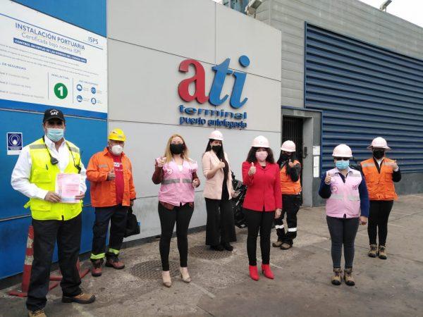 ATI realiza campaña orientada a sus trabajadoras para prevenir el cáncer de mama