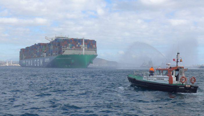 Puerto de Algeciras superará los 100 millones de toneladas en 2020
